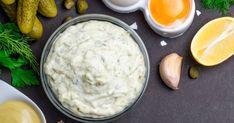 Domáca tatárska omáčka - dôkladná príprava krok za krokom. Recept patrí medzi tie najobľúbenejšie. Celý postup nájdete na online kuchárke RECEPTY.sk. Guacamole, Mashed Potatoes, Recipies, Ethnic Recipes, Food, Dressing, Whipped Potatoes, Recipes, Smash Potatoes