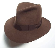 d6230e629ac16 THE INDY  Peters Brothers Hats in Fort Worth offers several hat options for  Indiana Jones