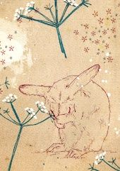 Cowparsley Rabbit | Cards from Postmark Online