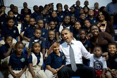 A President Who Inspired Big Dreams, and Big Smiles, in a Young Generation - The New York Times