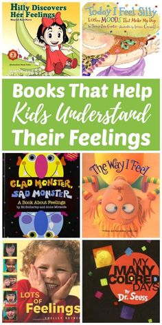 Learning how to express emotions is important to a child's social-emotional health and development. Reading books about feelings to kids is a positive parenting tip to help your children learn to manage their emotions in healthy ways. Feelings Book, Feelings And Emotions, Expressing Feelings, True Feelings, Social Emotional Development, Social Emotional Learning, Social Skills, Toddler Development, Teaching Emotions