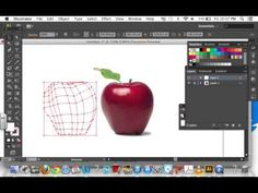Adobe Illustrator: Using the mesh tool (Creating an apple) - YouTube