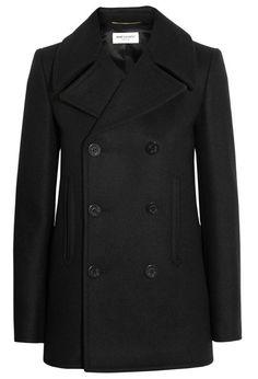 Saint Laurent pea coat