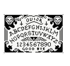 Designer Clothes, Shoes & Bags for Women Pagan Cross Stitch, Cross Stitch Skull, Cross Stitching, Cross Stitch Embroidery, Cross Stitch Designs, Cross Stitch Patterns, We Heart It, Black And White Gif, Chart Design