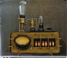 Nixie clock (ИН 14-6)