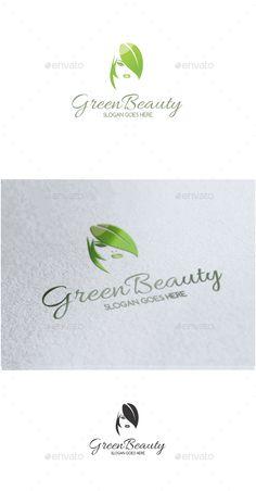Green Beauty - Logo Design Template Vector #logotype Download it here: http://graphicriver.net/item/green-beauty-logo/13504451?s_rank=362?ref=nesto