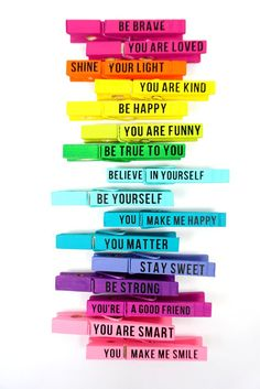 Looking for random acts of kindness ideas? These Kindness Clips are perfect for Random Acts of Kindness Day! A fun RAOK idea that's great for all ages! health coping skills health ideas health posters health promotion health tips Act Of Kindness Quotes, Kindness Notes, Random Acts Of Kindness Ideas For School, Market Day Ideas, Game Day Quotes, Kindness Activities, Kindness Projects, Health Activities, You Are Smart