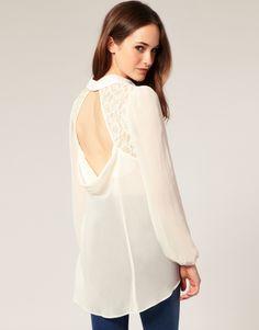 Beautiful blouse.