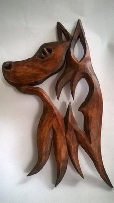 Wooden dog, Carving Wall Dog, Wood carving Dog, Carving Wall Dog,German shepher dog, Wooden animals Оriginal wood carving,untraditional ,made by more love and harmony . I need 7-10 days to make it and prepare it for shipping. The offer is for a linden with a size of: height 34cm,/13.4 inches width 18 cm,/7.1 inches depth 2 cm./0.8 inches I use the services of official Bulgarian Post Offices for sending the items. Your order will be processed with priority within 7-10 work...