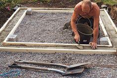 Guide bygga växthus Backyard Sheds, Backyard Patio, Greenhouse Shed, Garden Buildings, Green Rooms, Shed Storage, Diy Patio, Garden Accessories, Outdoor Life