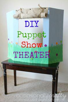 DIY Puppet Show Thea