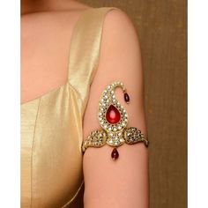 Create a style statement with these various forms of BajuBand Designs. BajuBand is an most important traditional part of the Indian Bridal Jewellery. Indian Bridal Fashion, Indian Wedding Jewelry, Bridal Jewelry, India Jewelry, Ethnic Jewelry, Antique Jewelry, Gold Jewellery, Arm Bracelets, Indian Dresses
