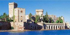Stunning Chateau de La Napoule near Cannes Monuments, Nice Cote D Azur, La Croisette, French Wedding, Dream Wedding, Beautiful Castles, Medieval Castle, French Riviera, Places
