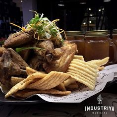 Enjoy off: Instead of On a Sumptous Chicken Feast for four with Rice and Drinks at Industriya Marikina 50th, Rice, Beef, Chicken, Dining, Drinks, Food, Meat, Drinking