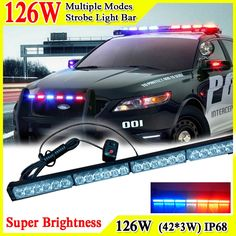 99.45$ Watch here - http://aliu4k.worldwells.pw/go.php?t=32358535751 - 41inch 126W Super Bright Car Roof Led Strobe Lights Bar Police Emergency Warning Fireman Flash 12V Led Police Lights Bar