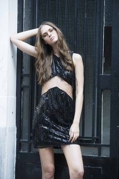 Dyemonde is a Greek women clothing brand since A Dyemonde woman is cosmopolitan,confident and she has a hippie attitude. Sequin Mini Dress, Breeze, Sequins, Clothes For Women, Womens Fashion, Cotton, Collection, Black, Dresses