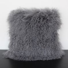 Silver Wool Pillow // available through www.summerhousestyle.com
