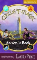 Sandry's book by Tamora Pierce begins the Circle of Magic series, which follows four young misfits who find themselves living in a strictly disciplined temple community where they become friends while learning to use their magical powers. --Kai's pick