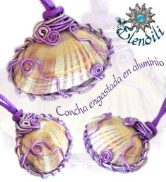 wire wrapped shells