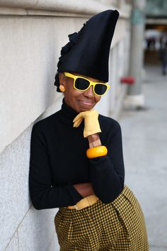 Black and yellow ! Advanced style