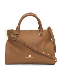Tina+Leather+Satchel