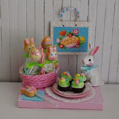 Its the Little Things: Easter Miniatures For 2012...