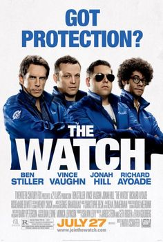 Directed by Akiva Schaffer.  With Ben Stiller, Vince Vaughn, Jonah Hill, Billy Crudup. Four men who form a neighborhood watch group as a way to get out of their day-to-day family routines find themselves defending the Earth from an alien invasion.