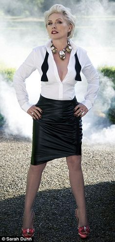 Debbie Harry: Why 70s pop goddess still rocks | Mail Online                                                                                                                                                     More