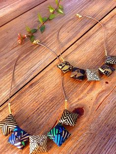 All Things Paper: Paper Jewelry: Mayumi Origami Accessories