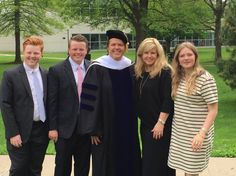 Jimmy with family--May-2015--honorary degree to Jimmy.