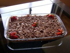 Torta de chocolate super fácil - Veja a Receita: