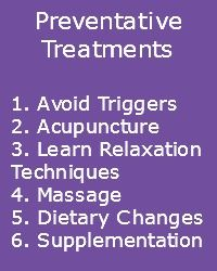 Here are some ideas to deal with Chronic Migraine Symptoms using Preventative Treatments. www.migrainesavvy.com has some steps to help you get organized and back to your life.