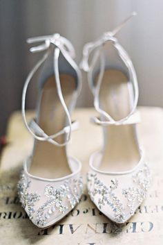 Hottest Wedding Shoes Trends 2018 For Brides ❤️ strappy crystal high heels embroidery wedding shoes trends bella belle florence ❤️ See more: http://www.weddingforward.com/wedding-shoes-trends/ #weddingforward #wedding #bride #weddingshoes