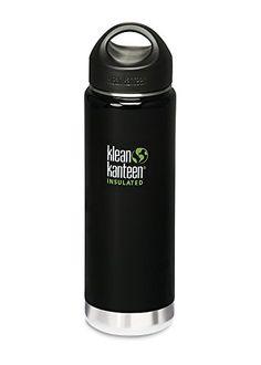 Termo Klean Kanteen Wide Insulated Loop Cap 592 ml negro 2015