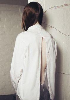 Charlie May AW12 split back shirt