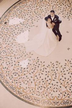 fantastic photo (& inlay art marble floor:)