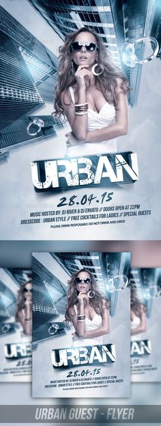 The Urban Show (CS, 4x6, band, blue, building, city, cocktail, design, disco, drink, flyer, girl, glam, glamour, guest, hot, modern, music, night, nightclub, party, performer, season, sexy, show, street, style, template, urban, vip)