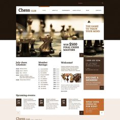 Loving it!   Chess club WordPress Theme CLICK HERE! live demo  http://cattemplate.com/template/?go=2jAe9Dq  #templates #graphicoftheday #websitedesign #websitedesigner #webdevelopment #responsive #graphicdesign #graphics #websites #materialdesign #template #cattemplate #shoptemplates