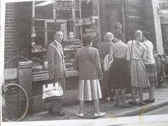 onze bakkerij in de jaren 60,Gierstraat, Haarlem