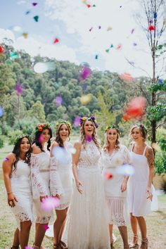 Image 10 - DIY Wedding in the Australian Mountains in Real Weddings. Wedding Color Schemes, Wedding Colors, Diy Wedding, Wedding Day, Photographer Portfolio, Bridesmaid Dresses, Wedding Dresses, Bridesmaids, Destination Wedding Photographer