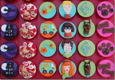 Groovy Scooby-Doo Cupcakes made by The Royal Bakery
