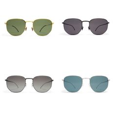 The MYKITA | Rani features a semi-hexagon shape for a structural yet airy look. Perfect for both men and women, available in 4 colors.