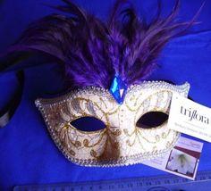Pretty Decorative Masquerade Masks by Triflora