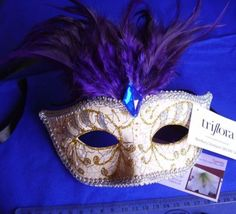 Pretty Decorative Masquerade Masks by Triflora