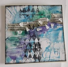 Fasters korthus: My friend Art cards