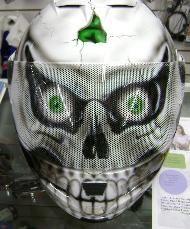 Skull Helmet by Garwood Custom Cycles