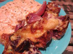 Low Carb Rezepte von Happy Carb: Zwiebelgratin mit Lachs - Manchmal braucht es nicht viel für ein gutes Essen.