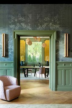 Unexpected France: apartment in green tones in Lyon | PUFIK. Beautiful Interiors. Online Magazine