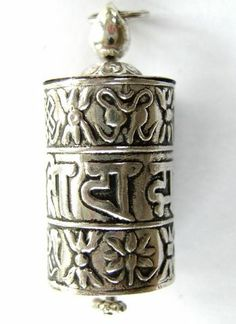 The 109 best tibetan prayer wheels images on pinterest tibet silver tibetan prayer wheel pendant tb123 mozeypictures Gallery