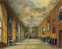 Windsor Castle: The Queen's Ballroom. Wild. 1817